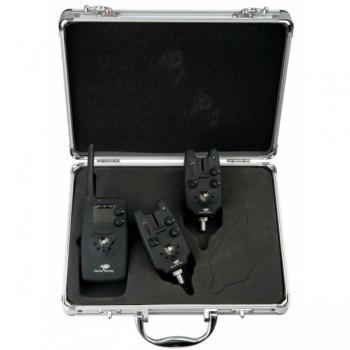 Signalizátory, echoloty, kamery - GIANTS FISHING - Sada hlásičů Deluxe Radio Carp set 2+1