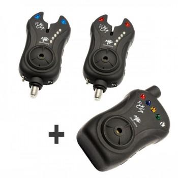Signalizátory, echoloty, kamery - GIANTS FISHING - Sada hlásičů FLX Carp set 2+1