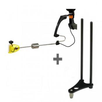 Signalizátory, echoloty, kamery - GIANTS FISHING - Indikátor záběru svítící LXR + Snag Ears ZDARMA!