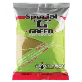 Krmení, nástrahy, návnady - BAIT-TECH - Groundbaits Special-G Green 1kg