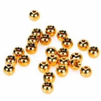 IMPORT hobby-g - Hlavičky zlaté - Beads Gold 4,6 mm/100ks