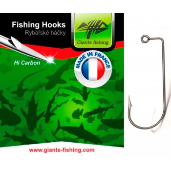 Háčky, krmítka, zátěže - GIANTS FISHING - Háček Jig 10ks