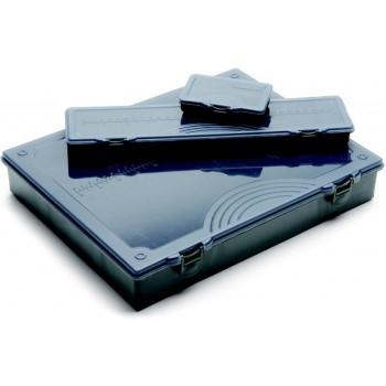 Krabičky, kufry, kbelíky, řízkovnice - LEEDA - Krabička Complete Tackle Box with Rigs Box