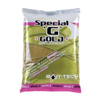 Krmení, nástrahy, návnady - BAIT-TECH - Groundbait Special G Gold 1kg
