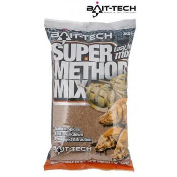 Krmení, nástrahy, návnady - BAIT-TECH - Super Method Mix 2kg