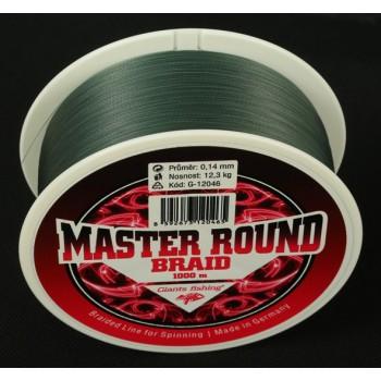IMPORT hobby-g - Splétaná šňůra Master Round Braid 0,12mm/1000m