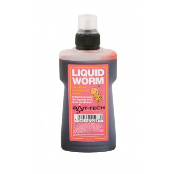 Krmení, nástrahy, návnady - BAIT-TECH - Liquid Worm 250ml