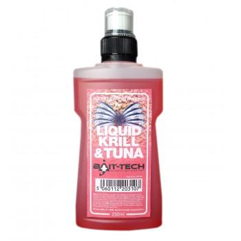 Krmení, nástrahy, návnady - BAIT-TECH - Liquid Krill & Tuna 250ml