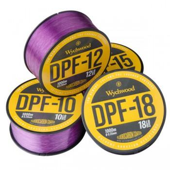Vlasce, šňůry, návazce - WYCHWOOD - Vlasec Deep Purple Fluoro Coated Mono 1000m
