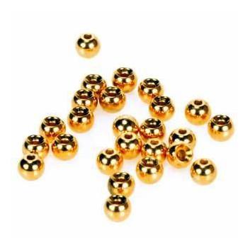 IMPORT hobby-g - Hlavičky zlaté - Beads Gold 1,5mm/100ks