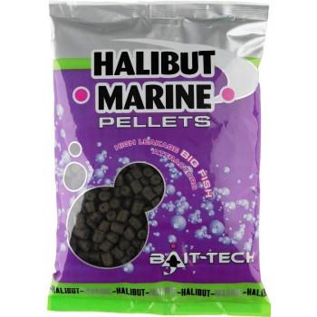 Krmení, nástrahy, návnady - BAIT-TECH - Pelety bez dírek Marine 900g