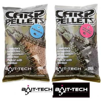 Krmení, nástrahy, návnady - BAIT-TECH - Fishmeal Carp Feed Pellets 2kg