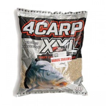 Krmení, nástrahy, návnady - 4CARP - Krmítková směs + Peletky XXL 5kg