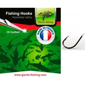 Háčky, krmítka, zátěže - GIANTS FISHING - Háčky s lopatkou Feeder 10ks