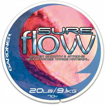 Vlasce, šňůry, návazce - GARDNER - Návazcový vlasec Sure Flow clear