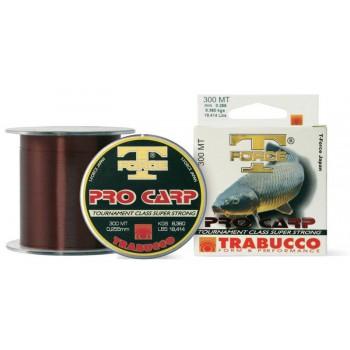 Vlasce, šňůry, návazce - TRABUCCO - Vlasec T-Force Pro Carp 1000m