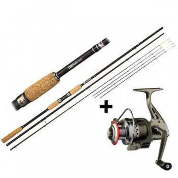 Rybářské pruty - GIANTS FISHING - Prut LXR Feeder 3,3m 50-100g + Naviják SPX 3000 FD ZDARMA!