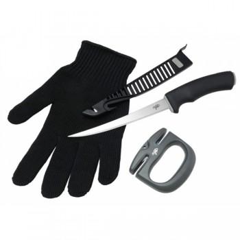 Váhy, peany, kleště, nože - GIANTS FISHING - Filetovací Sada Combo Filet 3v1