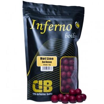 Krmení, nástrahy, návnady - CARP INFERNO - Boilies HOT Line 1kg 20mm