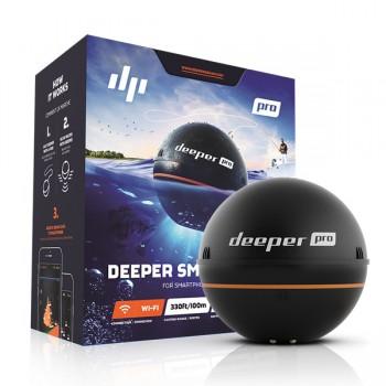 Signalizátory, echoloty, kamery - DEEPER - Nahazovací sonar Fishfinder Pro - verze WiFi