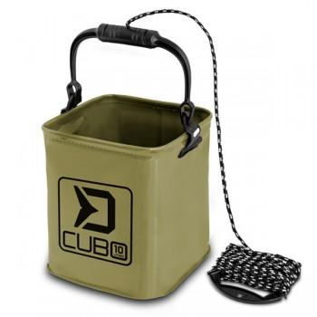 Krabičky, kufry, kbelíky, řízkovnice - DELPHIN - Skládací vědro CUBO