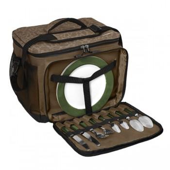 Batohy, tašky, pouzdra, vozíky - DELPHIN - Termotaška s příborem Area FullCOOL + Carpath