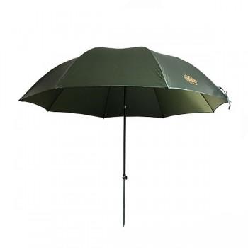Bivaky, brolly, deštníky, přístřešky - NGT - Deštník Green Brolly 2,2m