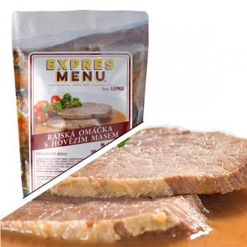 EXPRES MENU - EXPRES MENU - Rajská omáčka s hovězím masem - 2 porce (600g)