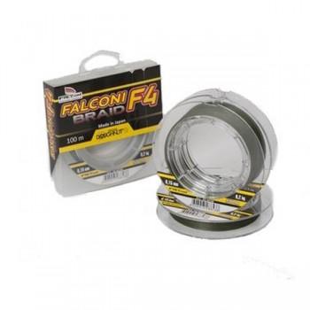 Vlasce, šňůry, návazce - FALCON - Šňůra F4 Braid 100m