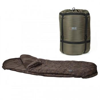 Spacáky, přehozy, polštáře - FOX - Spacák R2 Camo Sleeping Bag