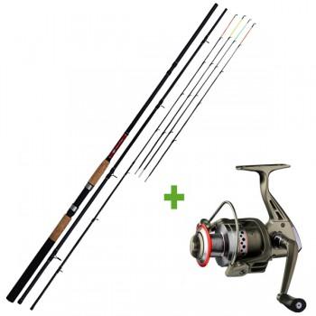 Rybářské pruty - GIANTS FISHING - Prut CLX Feeder TR 3,3m 90g Medium + Naviják SPX 3000 FD ZDARMA!