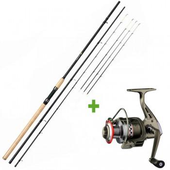 Rybářské pruty - GIANTS FISHING - Prut Fluent Feeder XT 3,6m 100g Medium + Naviják SPX 3000 FD ZDARMA!