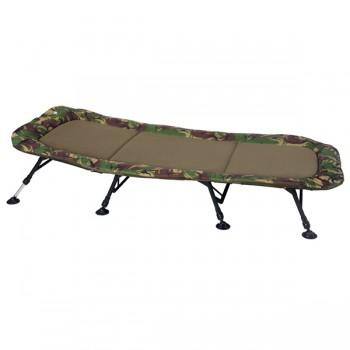 Křesla, lehátka, židličky - GIANTS FISHING - Lehátko Bedchair Flat Fleece Camo XXL 8Leg