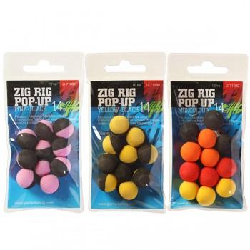 Krmení, nástrahy, návnady - GIANTS FISHING - Pěnové plovoucí boilie Zig Rig Pop-Up 14mm