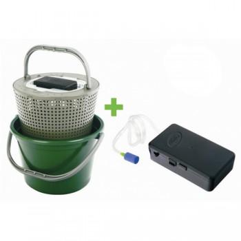 Krabičky, kufry, kbelíky, řízkovnice - GIANTS FISHING - Řízkovnice 13 litrů + vzduchování ZDARMA!