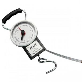 Váhy, peany, kleště, nože - GIANTS FISHING - Váha s metrem Scale 22kg