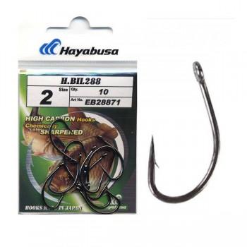 Háčky, krmítka, zátěže - HAYABUSA - Háčky Hooks Model H.Bil 288