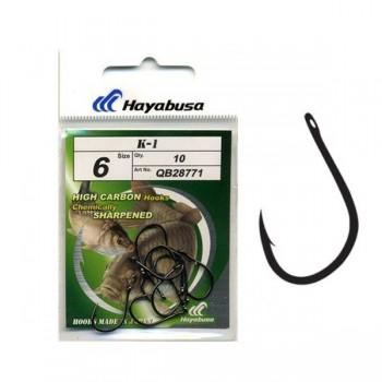 Háčky, krmítka, zátěže - HAYABUSA - Háčky Hooks Model K1