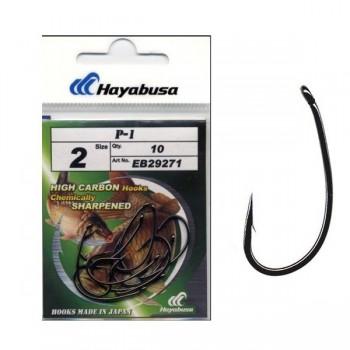 Háčky, krmítka, zátěže - HAYABUSA - Háčky Hooks Model P1