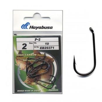Háčky, krmítka, zátěže - HAYABUSA - Háčky Hooks Model P2