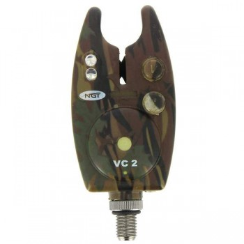 Signalizátory, echoloty, kamery - NGT - Hlásič Camo Bite Alarm VC-2