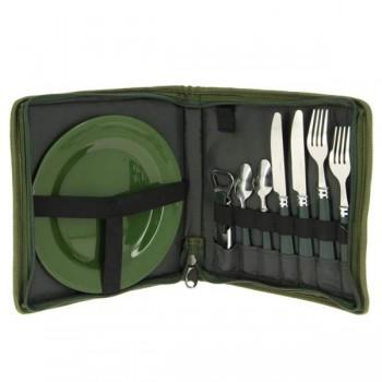 Camping - NGT - Jídelní Sada Day Cutlery PLUS Set