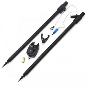 Stojany, vidličky - SPORTS - Kaprový set - Dvě vidličky + Signalizátor + Swinger