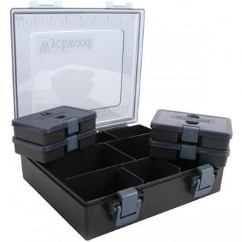 Krabičky, kufry, kbelíky, řízkovnice - WYCHWOOD - Krabička na příslušenství Tackle Box L Complete