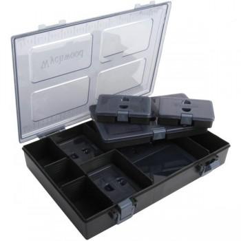 Krabičky, kufry, kbelíky, řízkovnice - WYCHWOOD - Krabička na příslušenství Tackle Box M Complete