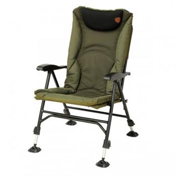 Křesla, lehátka, židličky - GIANTS FISHING - Luxusní rybářské křeslo Chair Luxury XS