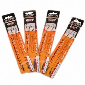 Vlasce, šňůry, návazce - MIVARDI - Hotové návazce Adjustable hair rig Easy