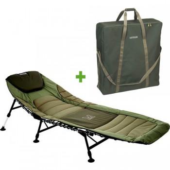 Křesla, lehátka, židličky - MIVARDI - Lehátko Premium + Přepravní taška
