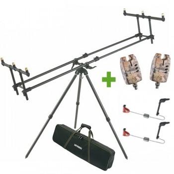 Stojany, vidličky - MIVARDI - Tripod Premium + 2 x Sounder Easy a 2 x Swingarm ZDARMA!