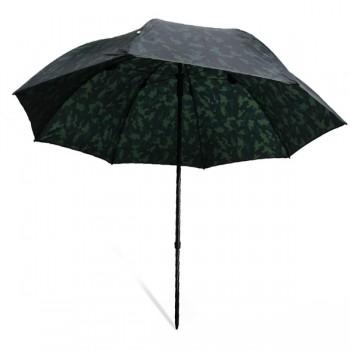 Bivaky, brolly, deštníky, přístřešky - NGT - Deštník Camo Brolly 2,20m